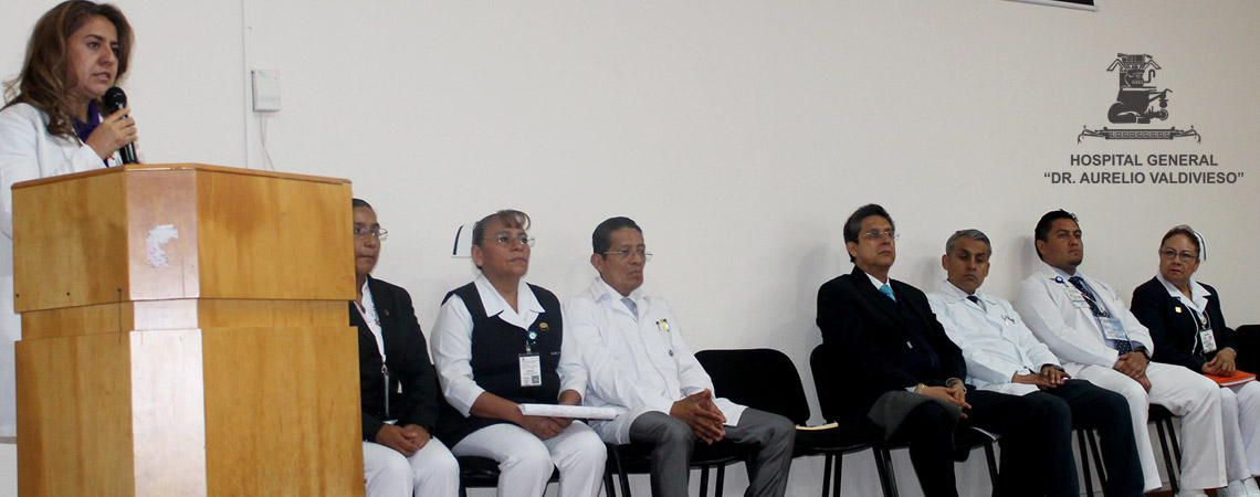 PARA CONMEMORAR EL DÍA DEL MÉDICO DEL (H.G.D.A.V.) REALIZAN JORNADAS ACADÉMICAS