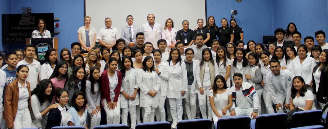 LA UNIVERSIDAD DE UTAH Y REANIMADORES NEONATALES DEL HOSPITAL CIVIL CAPACITARON A ESTUDIANTES DE FACULTAD DE MEDICINA DE LA (U.A.B.J.O.)