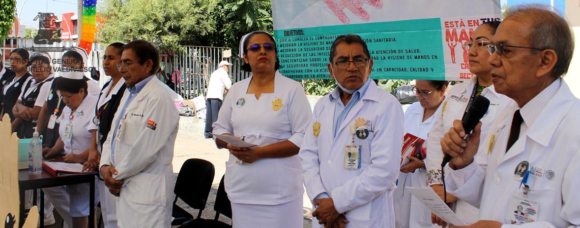 PONE EN MARCHA EL (H.G.D.A.V.) SEGUNDA JORNADA INTENSIVA DE HIGIENE DE MANOS