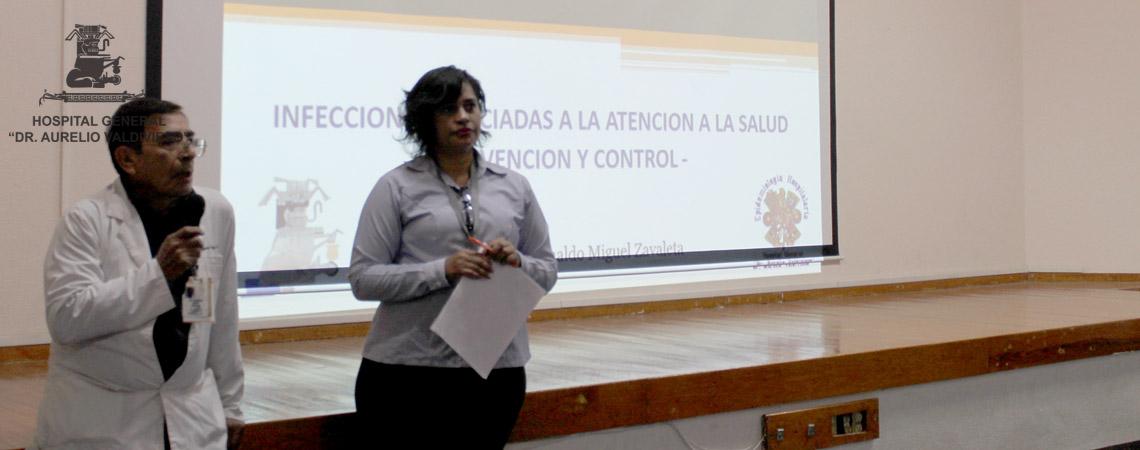 PREVENIR INFECCIONES ASOCIADAS A LA ATENCIÓN A LA SALUD (IAAS) OBJETIVO DE LAS AUTORIDADES DEL (H.G.D.A.V.).
