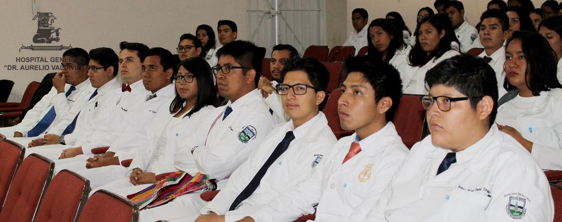 81 NUEVOS MEDICOS INTERNOS DE PREGRADO INICIAN PRACTICAS PROFESIONALES EN EL HOSPITAL GENERAL DR. AURELIO VALDIVIESO