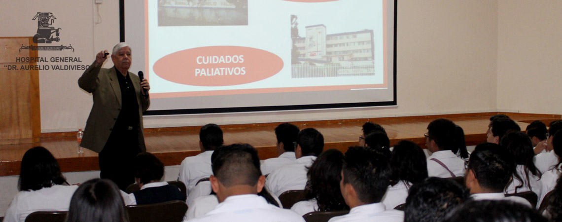 LOS CUIDADOS PALIATIVOS SON UNA PRIORIDAD EN EL HOSPITAL GENERAL DOCTOR AURELIO VALDIVIESO.