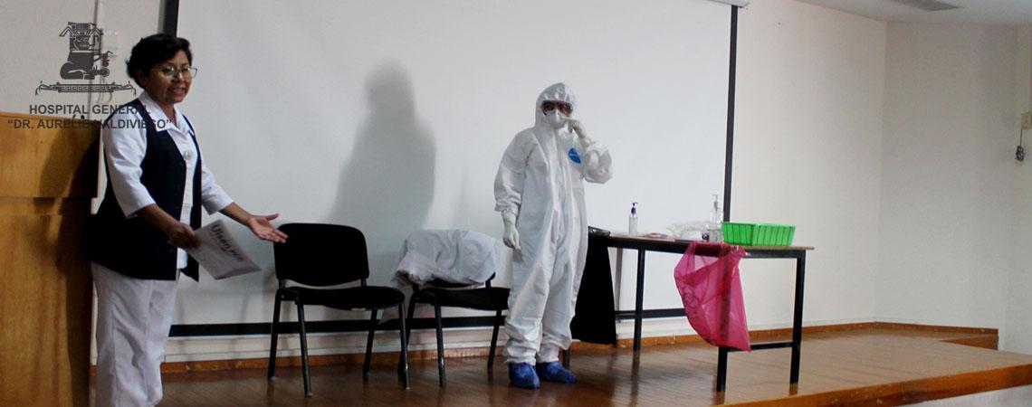 """CONTINUA EL FORTALECIMIENTO DEL HOSPITAL GENERAL """"DOCTOR AURELIO VALDIVIESO"""""""