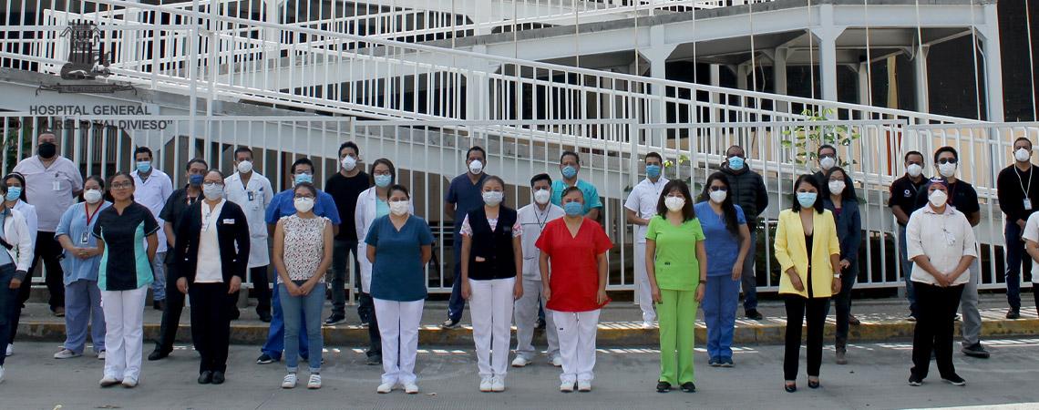 RECONOCE EL HOSPITAL GENERAL DR. AURELIO VALDIVIESO LA IMPORTANCIA DE LOS MEDICOS RESIDENTES  PARA SU  EXCELENTE FUNCIONAMIENTO